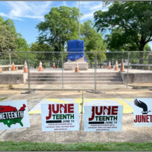 Juneteenth 2021 is slated for Friday through Sunday, June 18-20. It will be held in Health Sciences Park, which – as Forrest Park – saluted Nathan Bedford Forrest, a notorious Confederate general and slave trader. (Courtesy photo)